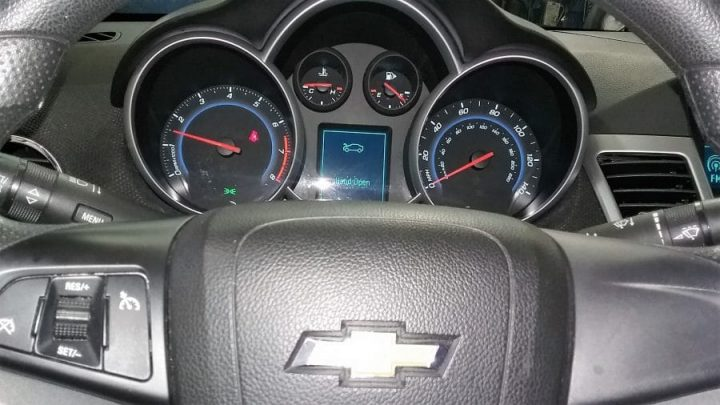 Chevy dashboard removal
