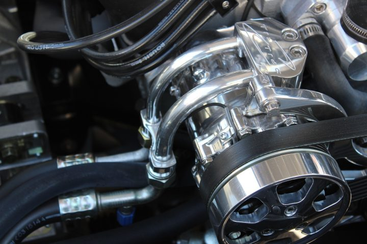 A/C Compressor.A/C hose/lines quick installation.