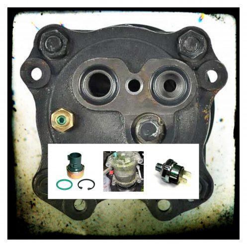 Autmotive a/c pressure sensors & switches.